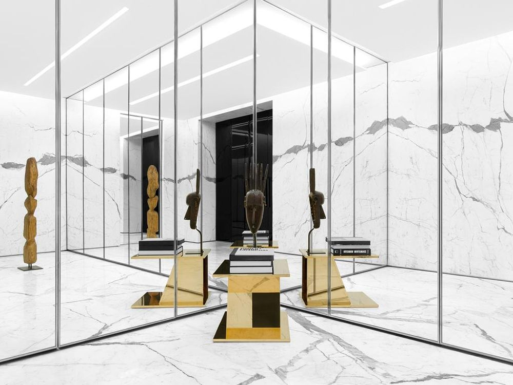 de6c9e3f1c4ac Saint Laurent reopens Parisian store at Faubourg Saint Honore ...