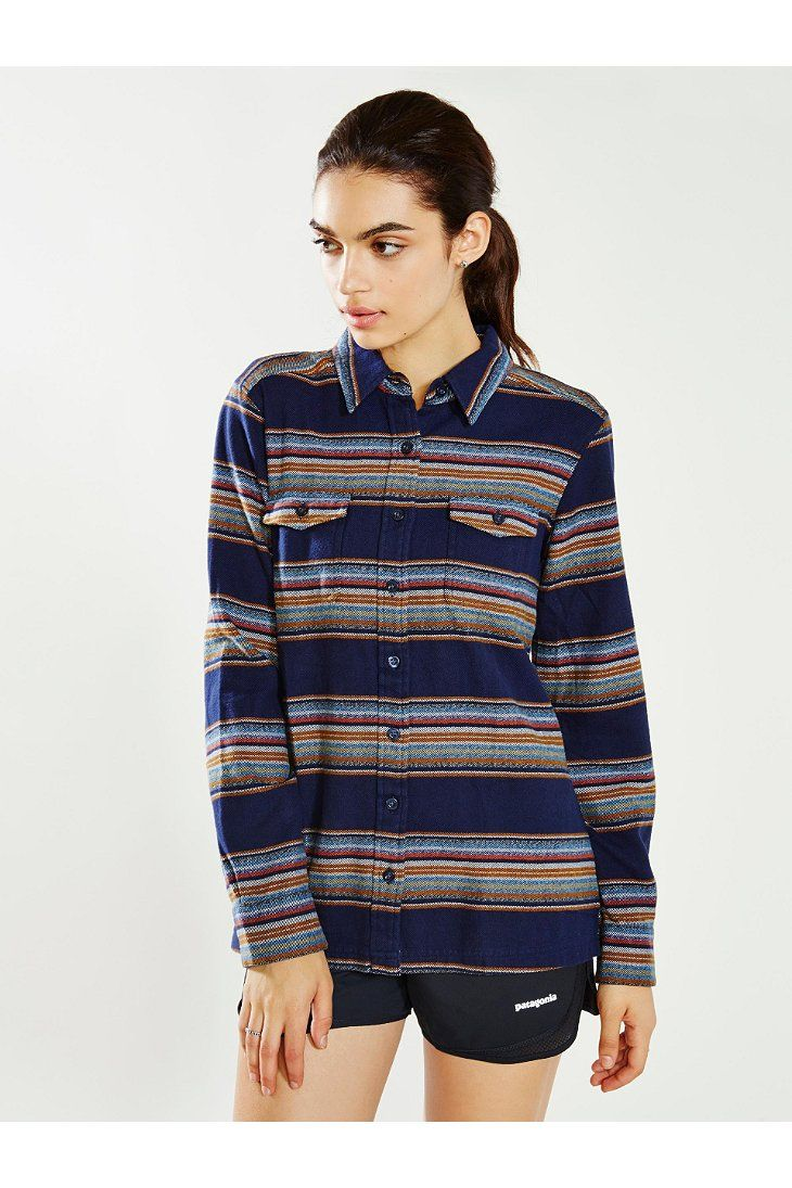 Flannel shirt women  Patagonia Fjord Flannel Shirt  College Style  Pinterest