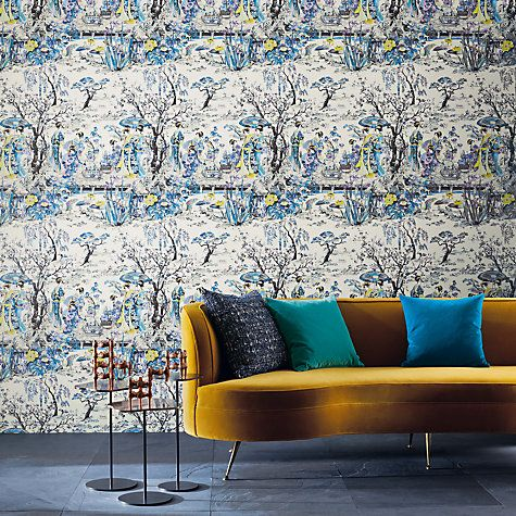 Osborne Little Anese Garden Wallpaper Online At Johnlewis