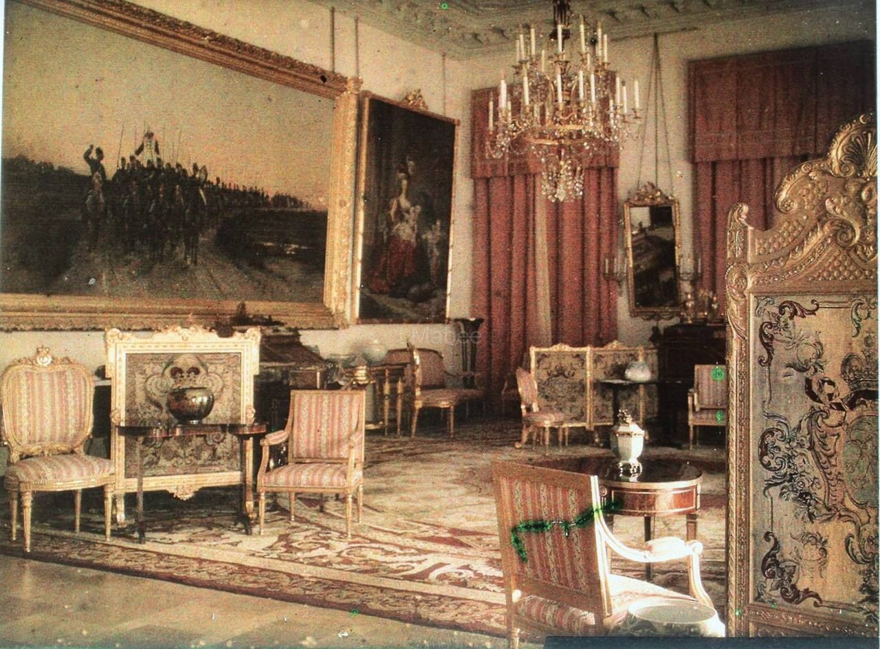 Original Colour Photo from Alexander Palace in Tsarskoe ...