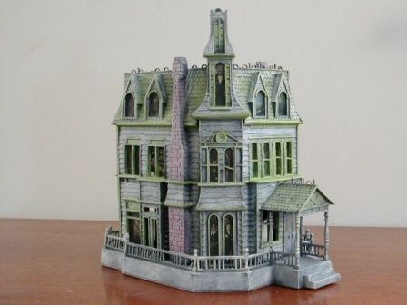 Addams Family Fan Art A Model of the Addams Family House