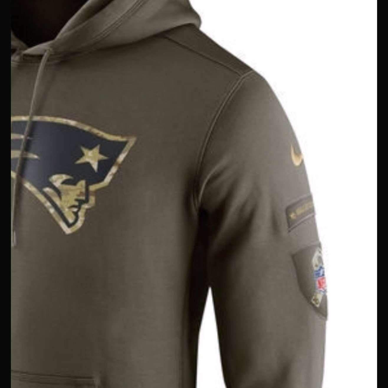 patriots salute to service sweatshirt