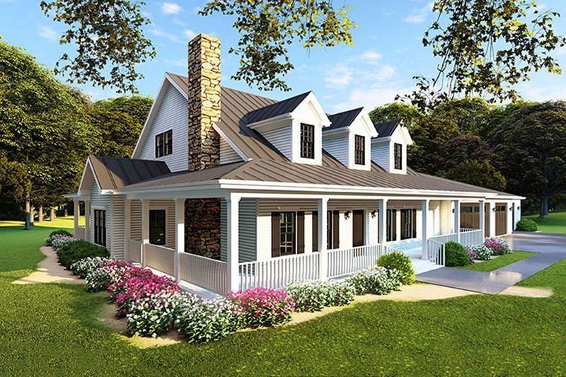 Farmhouse Style House Plan 4 Beds 4 Baths 3416 Sq Ft Plan 923 105 In 2020 Farmhouse Style House Farmhouse Style House Plans Modern Farmhouse Plans