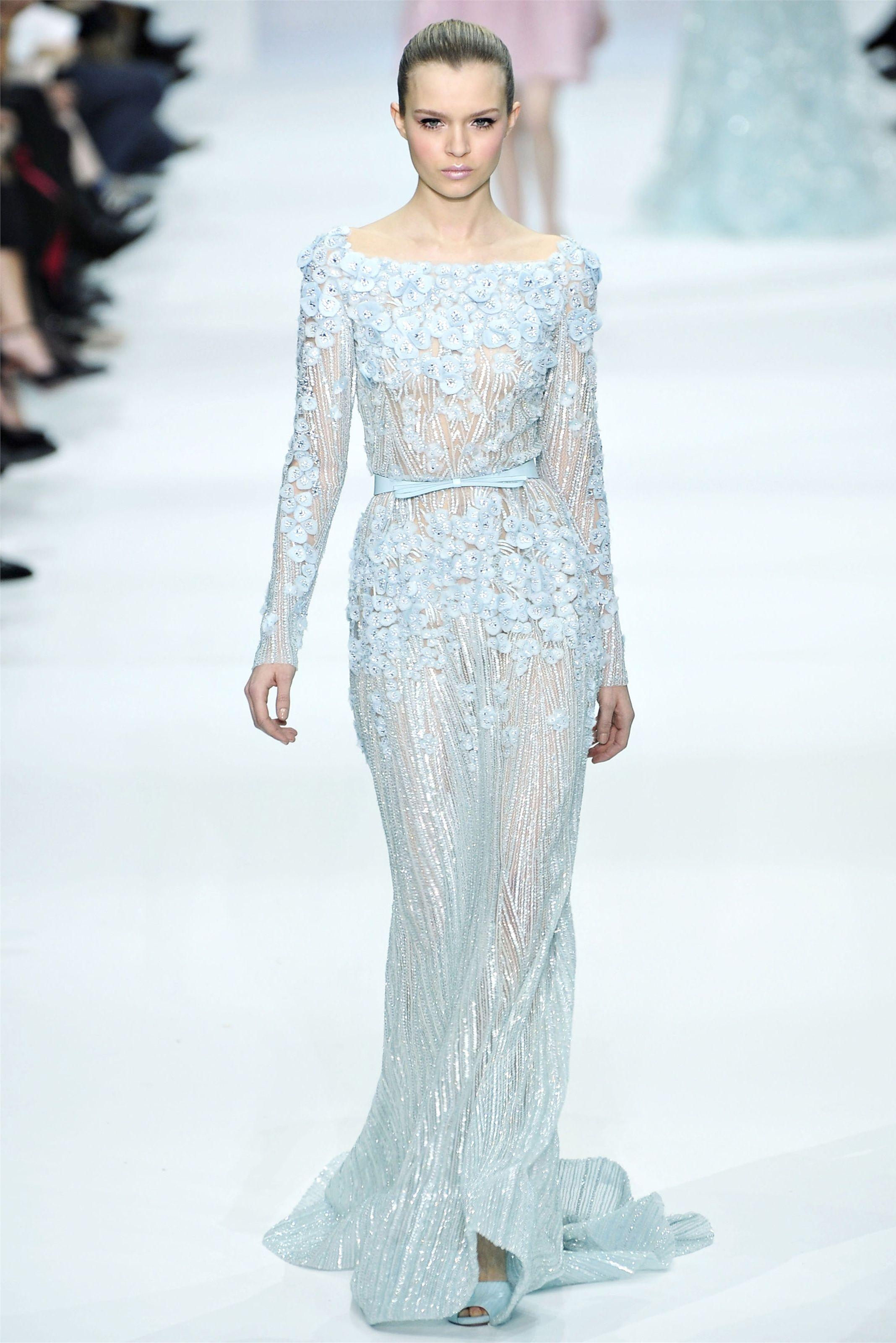 Beautiful Spring Inspired Dress! Elie Saab Spring Summer Haute ...