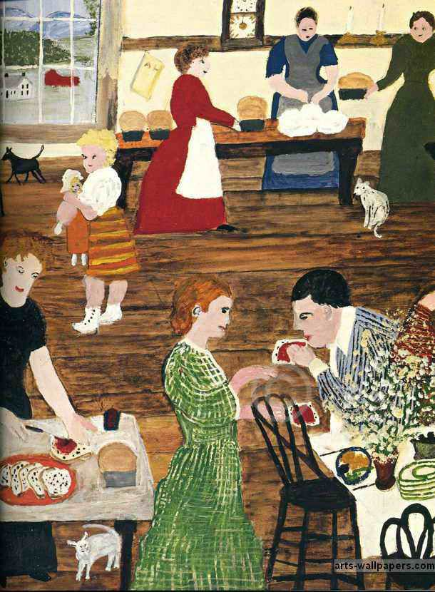 Grandma Moses | Grandma Moses Paintings