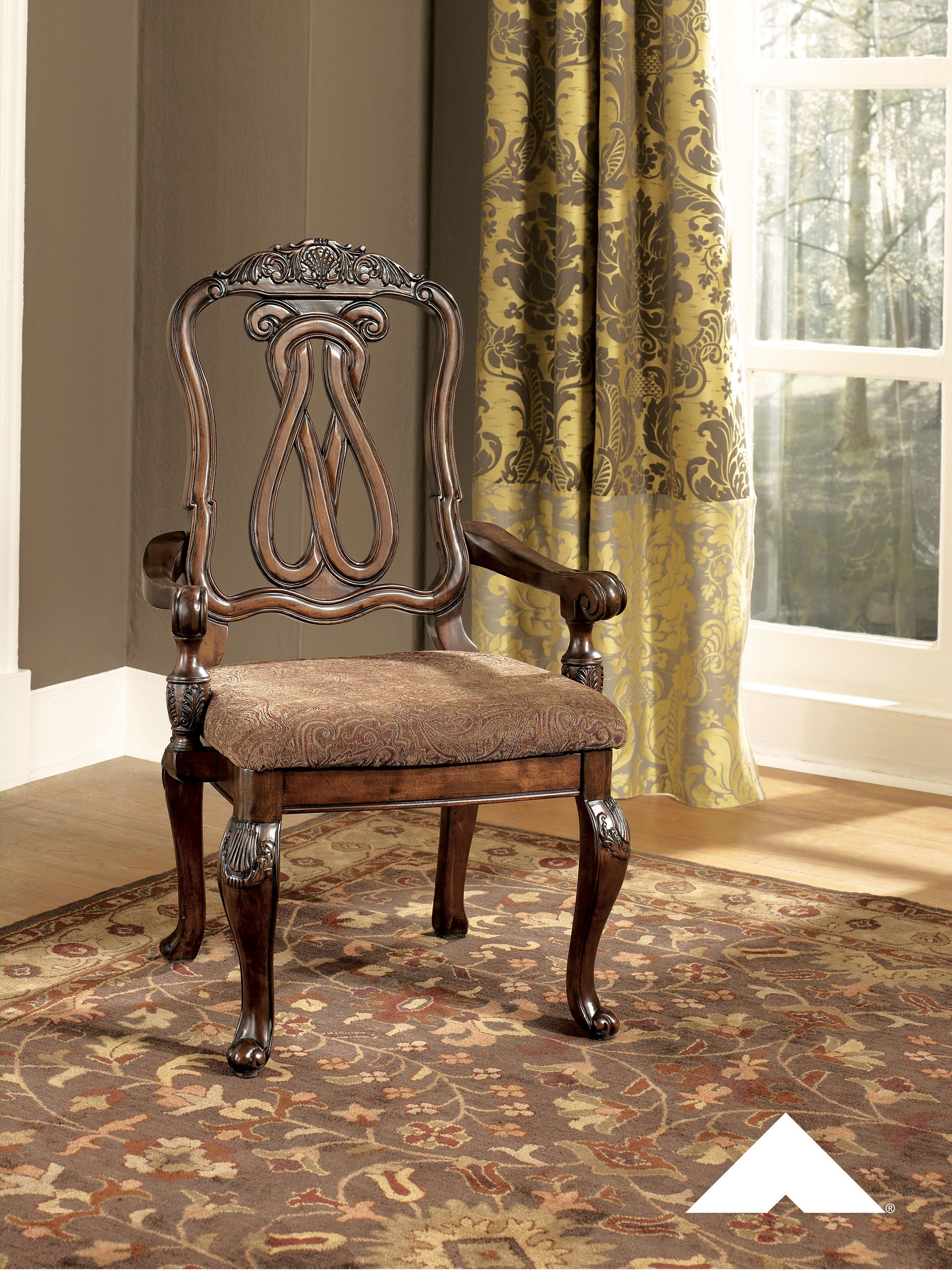 Cool North Shore Dark Brown Decorative Old World Dining Chair By Gmtry Best Dining Table And Chair Ideas Images Gmtryco