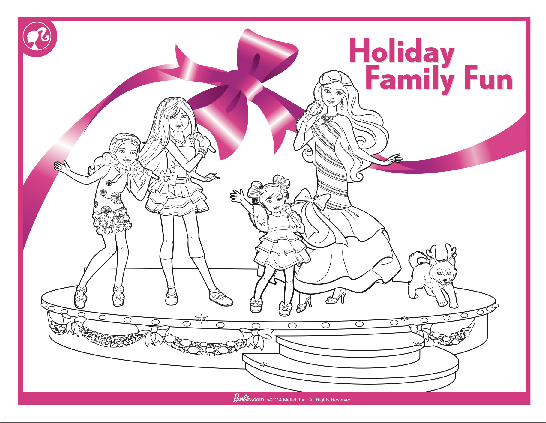Click On The Image To Print Out This Perfect Colouring In Activity Pack Barbie Coloring Pages Coloring Books Coloring Pages