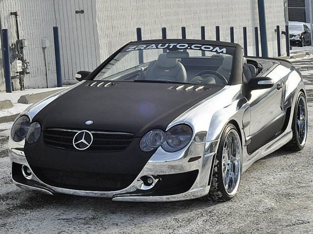 Wild Body Kit Chrome Wrap And Retuned Engine Make This An