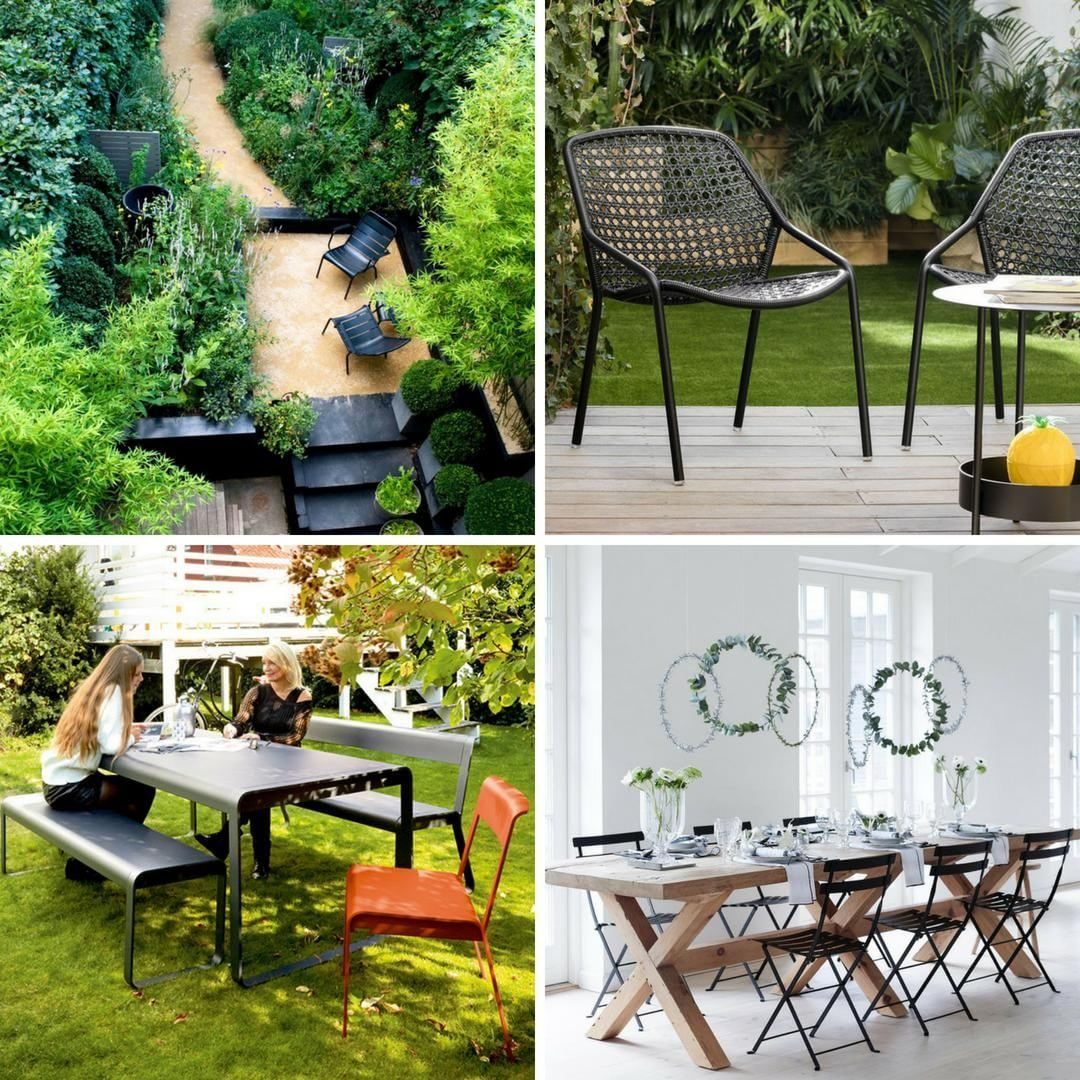 Some of the many Fermob outdoor furniture collections in ...