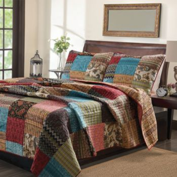 New Bohemian Reversible Quilt Collection Kohls Quilt Sets