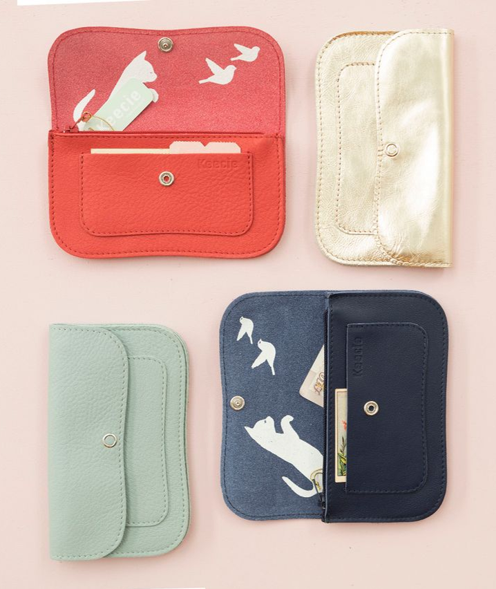 a723ebad617 Almost all our wallets are available in 16 colors Keecie, durable design