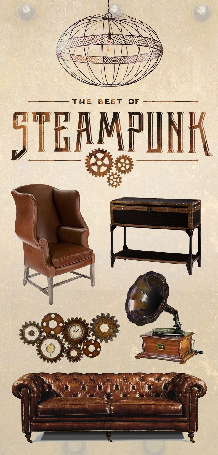 Furniture And Decor For The Modern Lifestyle Steampunk Furniture
