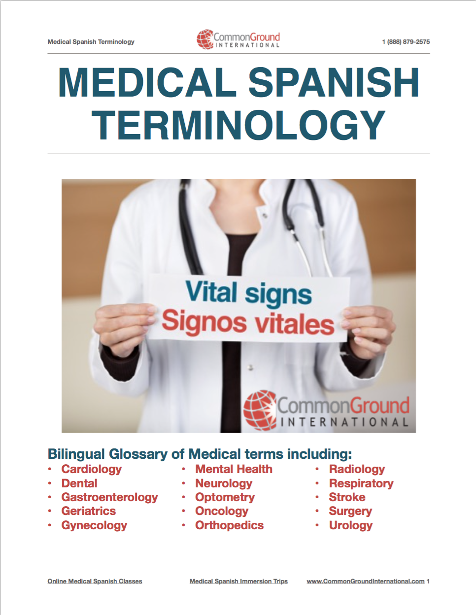 body parts health personality and appearance vocabulary learn medical spanish tools a new tool every month check out what s available today