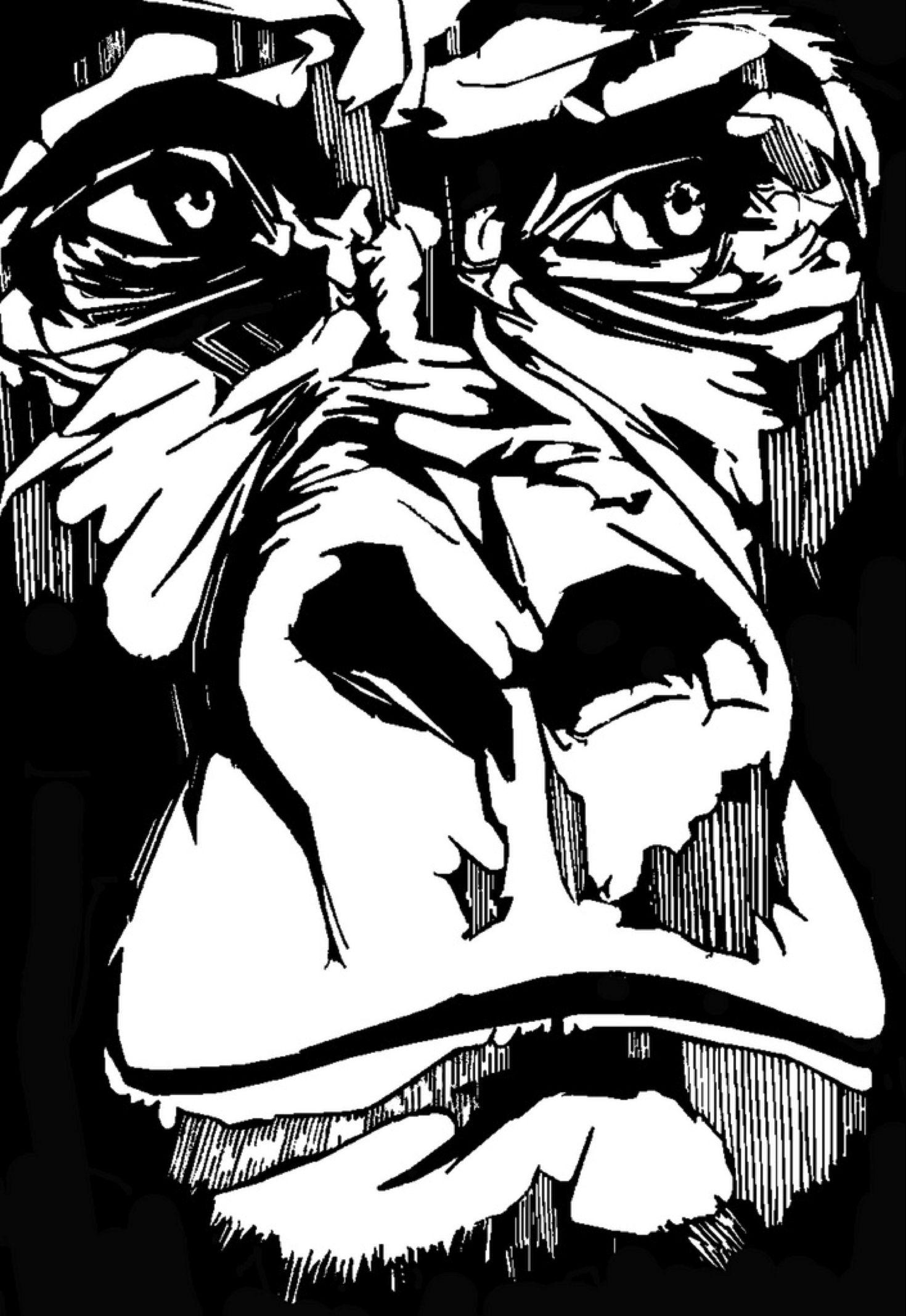 gorilla face stencil monkey needs to get ripped can you8230 Pogo Monkey GTA gorilla face stencil monkey needs to get ripped can you8230 1470x2134 wallpaper art hd wallpaper