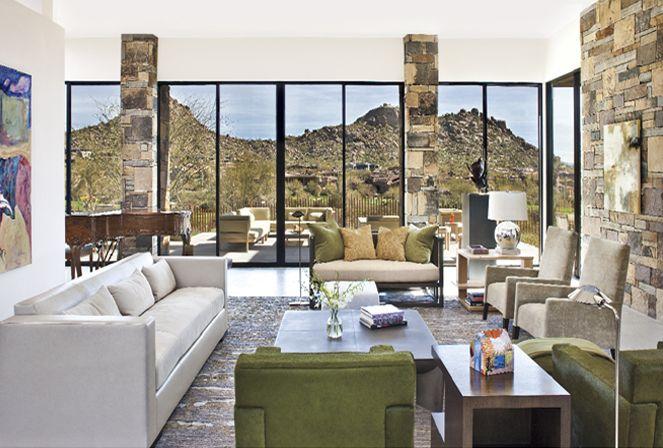 Arizona Home Living Room Luxe Living Room Luxe Interiors Estancia