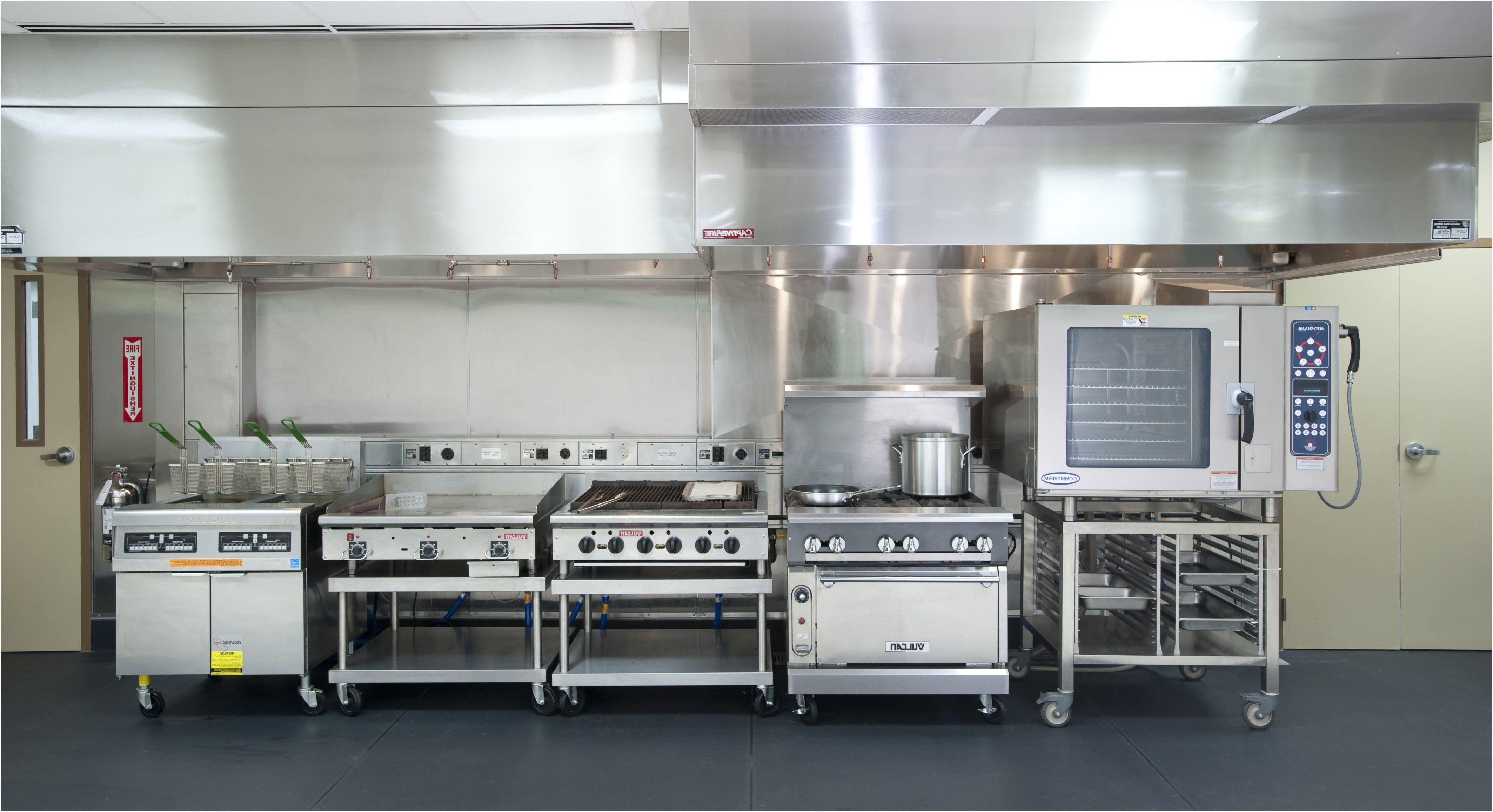 Commercial Kitchen Restaurant Haerlin Gourmetrestaurant Hamburg