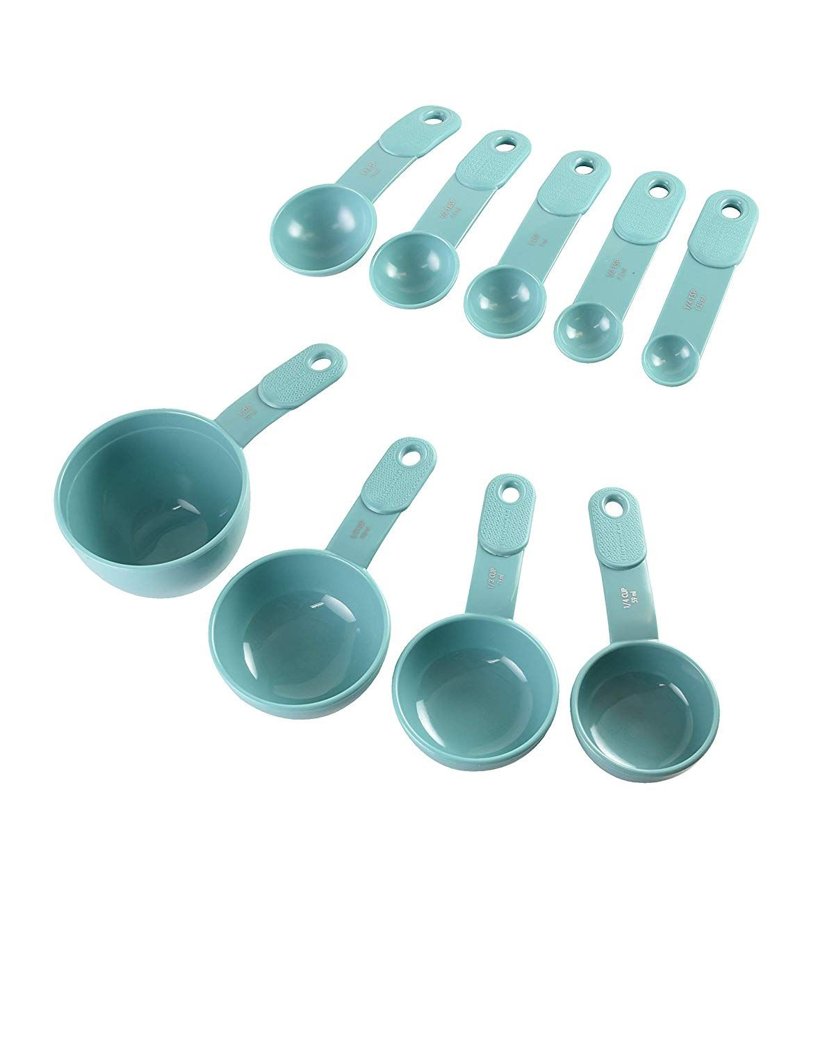 Kitchenaid 9piece measuring cup and spoon set