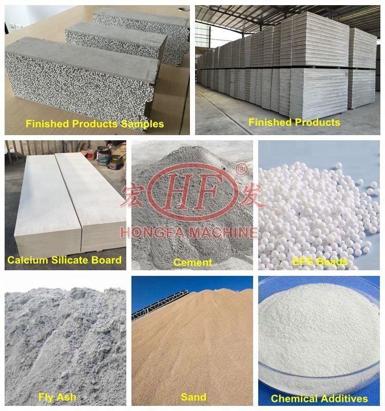 Gfrg Glass Fiber Reinforece Gypsum Panels Production Line Concrete Board Wall Making Machine Eps Cement Sandw In 2020 Concrete Wall Panels Wall Paneling Making Machine
