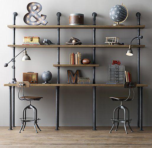 23 Idees De Bureau Au Style Industriel Moderne House Salon En