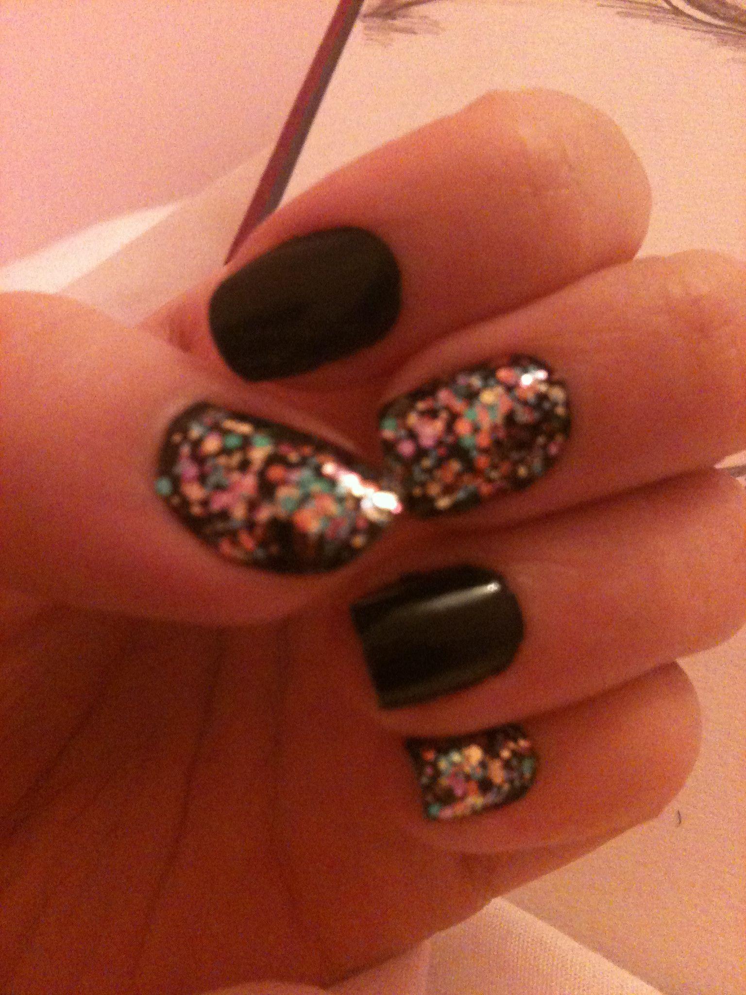 glitter nails varnish models own Nails, Glitter