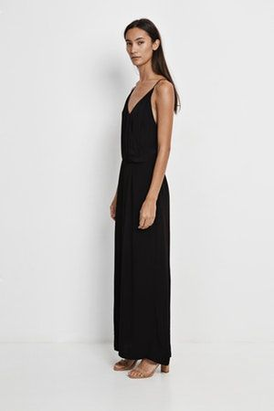 Robe Black Summer Lyon Shop Long In Ginni Samsoe Bonny gqrBgwE