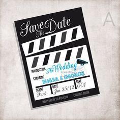 Invitation Movie Ticket Or Rsvp Card