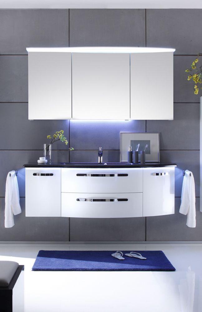 Pelipal Badezimmer Solitaire 7005 Weiss Mobel Letz Ihr Online Shop Badezimmereinrichtung Hochschrank Spiegelschrank