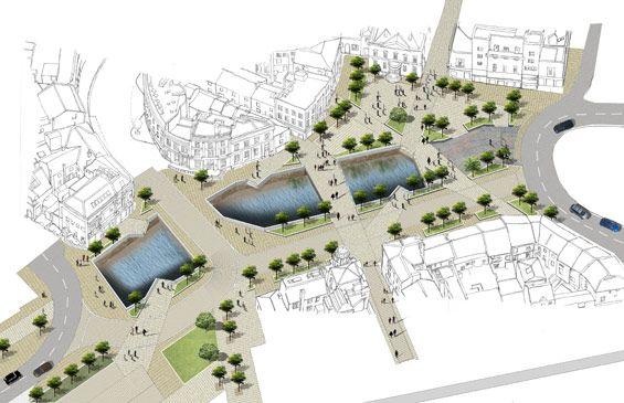 Rochdale Town Centre Competition, UK   Design Proposals Are Sought    Lancashire Architecture Contest, Rochdale Town Centre Design Competition,  England