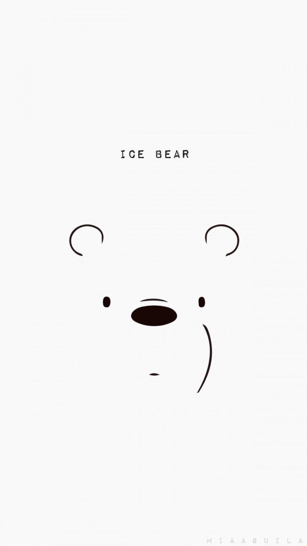 Baby Ice Bear We Bare Bears Wallpaper Hd Allwallpaper Ice Bear We Bare Bears Bear Wallpaper We Bare Bears Wallpapers