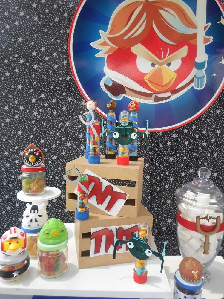 aee646caf Angry Birds Birthday Party Ideas in 2019   Angry Bird Star Wars Birthday   Bird  birthday parties, Angry birds, Party