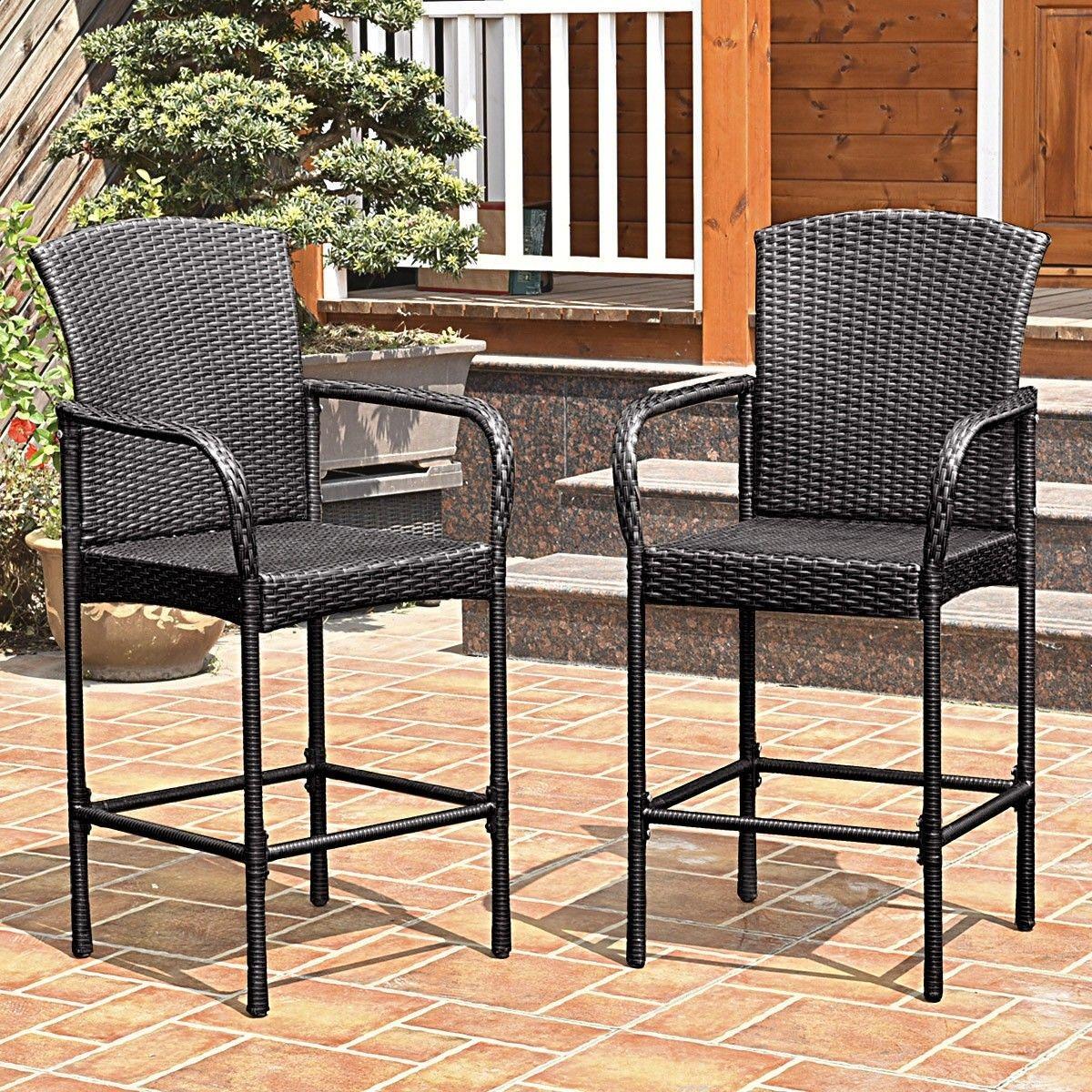 outdoor high chair set