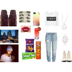 ♥-Drink and snacks with Liam on the terrace of apartament-♥