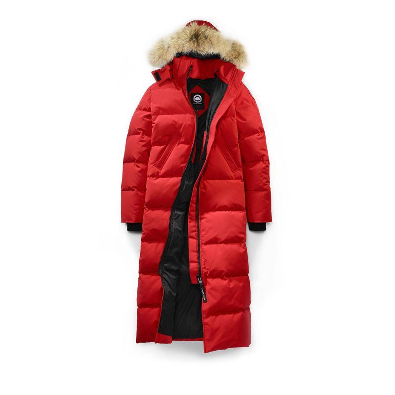 Women Canada Goose Red Mystique Parka Canada Goose Parka Canada Goose Jackets