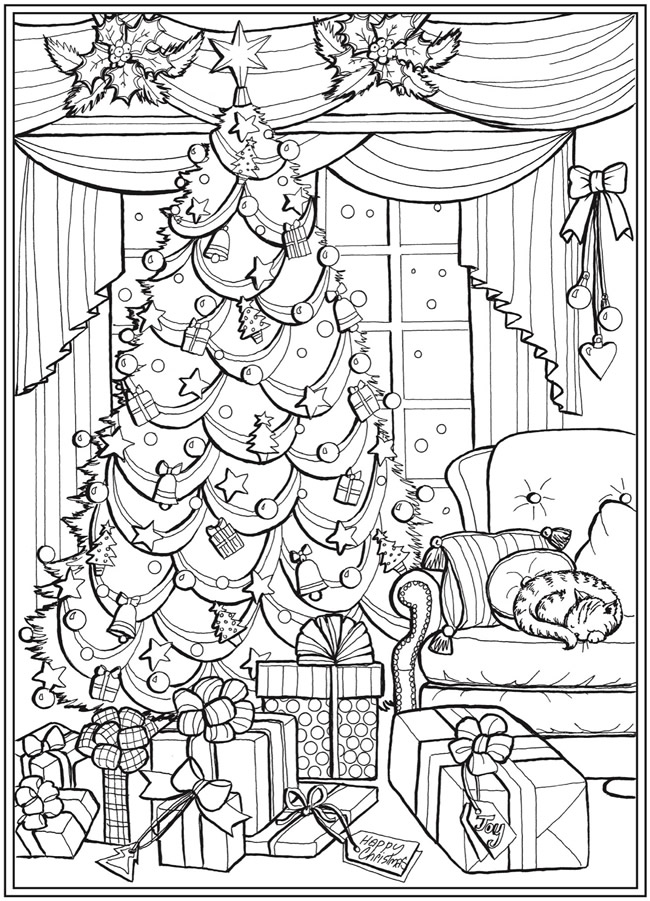 Welcome To Dover Publications Christmas Coloring Books Printable Christmas Coloring Pages Christmas Coloring Sheets