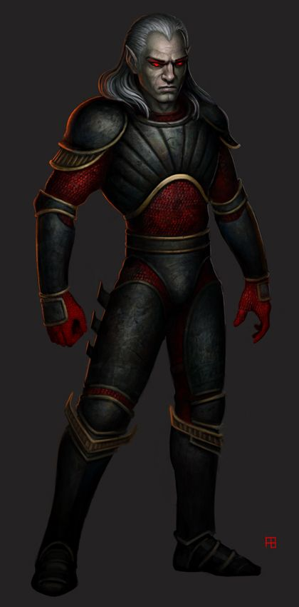 """Blood Omen: Legacy of Kain Remake of Kain from the inventory panel for the up coming Blood Omen mod titled """"Blood Omnicide"""" Check out the mod at the links below:"""
