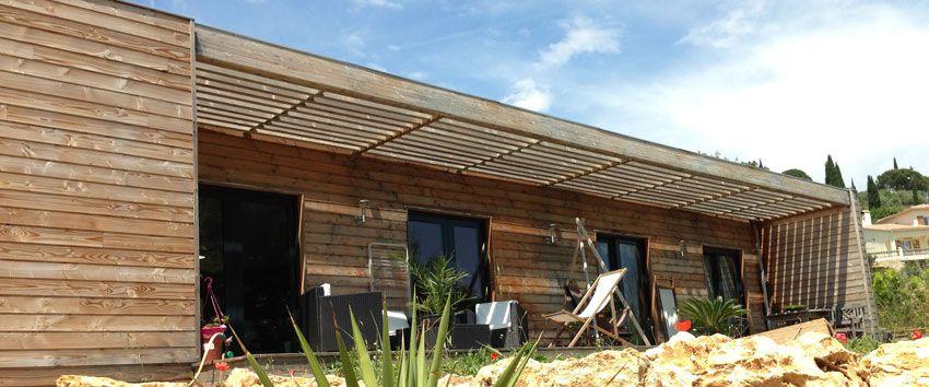 maison ossature bois maison bois contemporaine toit plat maison bbc ossature bois