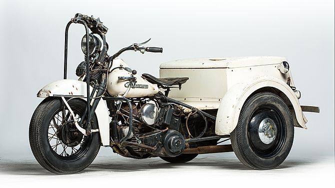 1955 Harley Davidson Model G Servi Car Presented As Lot S15 Mecum