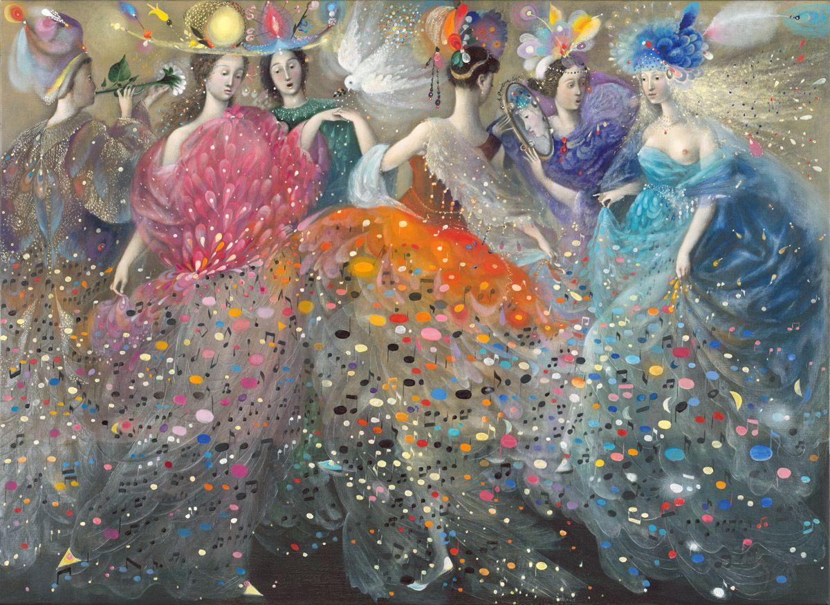 El arte de Annael (Anelia Pavlova): pinturas al óleo