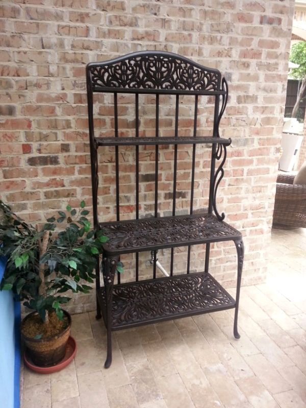 Hanamint S Tuscany Bakers Rack Outdoor Rooms