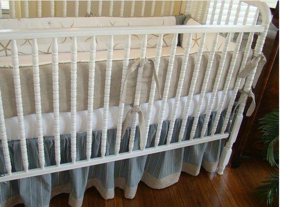 Beach Theme Crib Bedding Oh Baby Starfish Perfect For A Themed Nursery