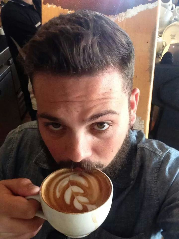 Latte art so good you will want to take a selfie with it