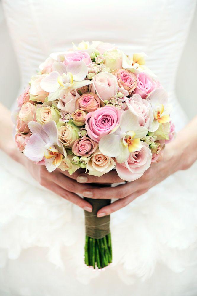 Brautstrau hannover milles fleurs bridal bouquet for Tischdeko altrosa hochzeit