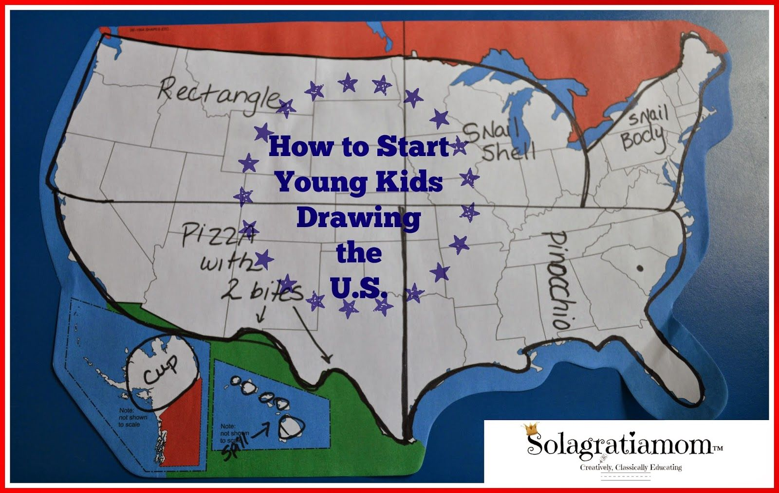 How to start young kids drawing the us sola gratia mom cycling how to start young kids drawing the us gumiabroncs Choice Image