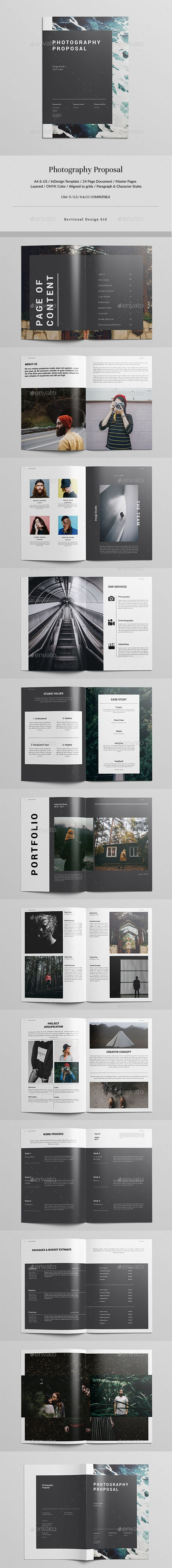 Photography Proposal  Proposals Proposal Templates And Template