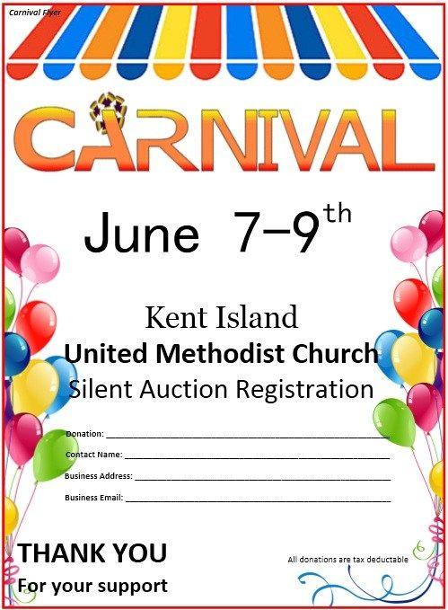 Carnival Flyer Template Stationary Templates Pinterest Flyer