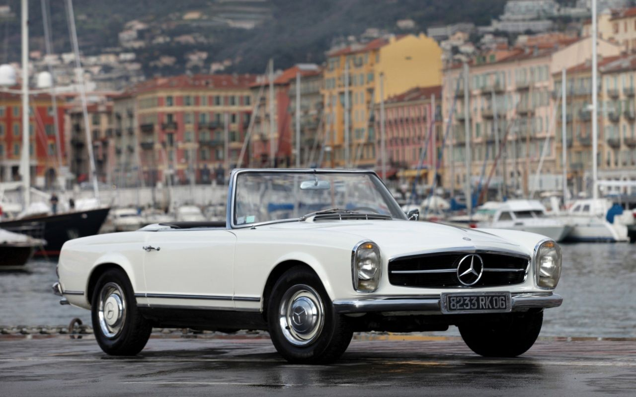 Mercedes Benz Sl 230 1966 With Images Mercedes Convertible