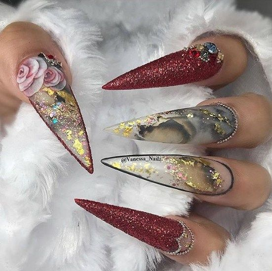 Trendy Gel Nail 2018 Best Instagram Nail Art With Images Instagram Nails Luxury Nails