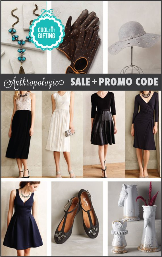 Anthropologie's sale has an additional 40% OFF Promo Code