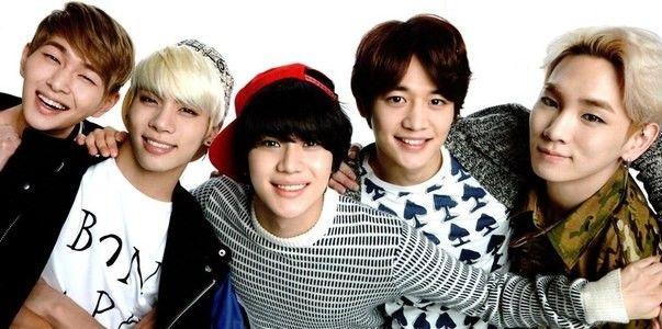 Shinee Boyband Kpop Shinee Jonghyun Shinee Onew
