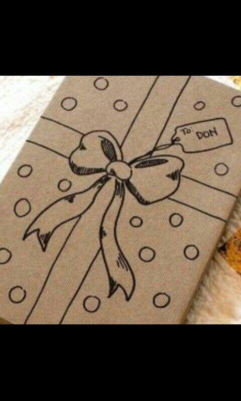 Regalo Empaquetando regalos Pinterest Regalitos, Navidad y - envoltura de regalos originales